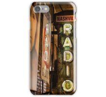 Radio Nashville iPhone Case/Skin