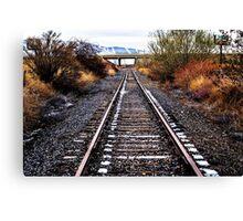 Rail Road Canvas Print