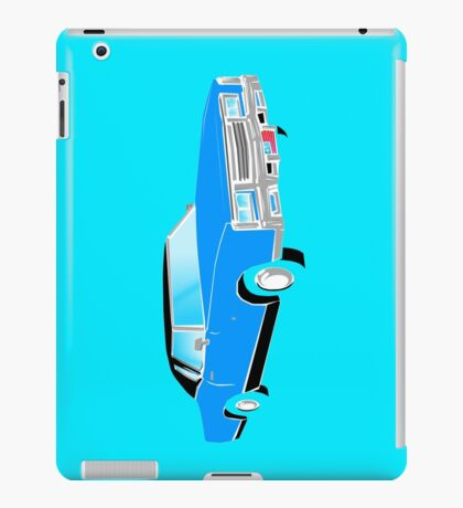 American Car - BLUE iPad Case/Skin