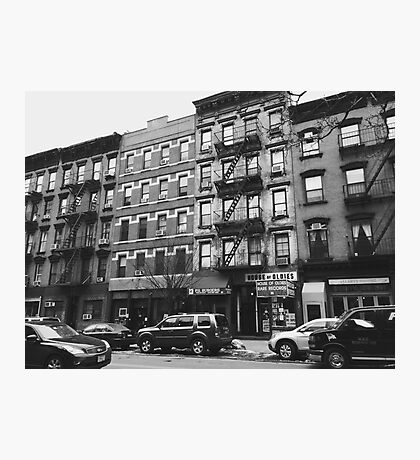 Street in Greenwich Village Photographic Print