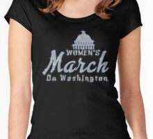 Women's March on Washington 2017 Women's Fitted Scoop T-Shirt