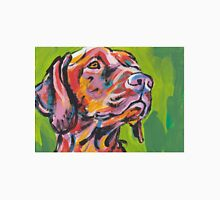Vizsla Dog Bright colorful pop dog art Unisex T-Shirt