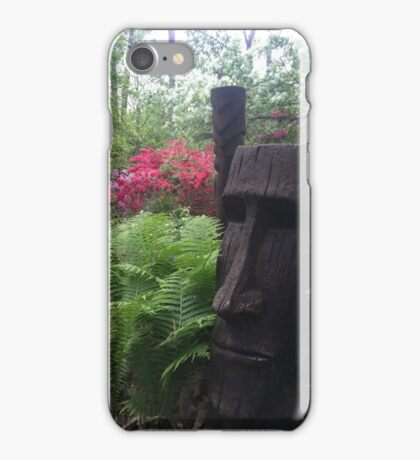 Wood sculpture  iPhone Case/Skin