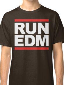 RUN EDM (Parody) White Ink Classic T-Shirt