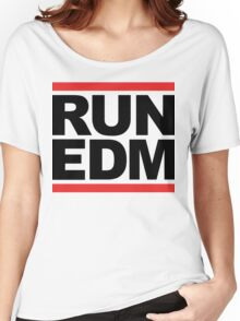 RUN EDM (Parody) Women's Relaxed Fit T-Shirt