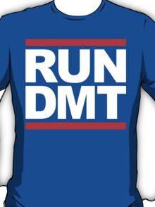 RUN DMT (Parody) White Ink T-Shirt