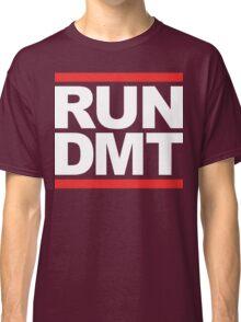 RUN DMT (Parody) White Ink Classic T-Shirt