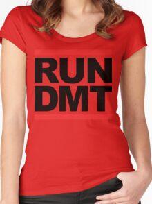 RUN DMT (Parody) Women's Fitted Scoop T-Shirt