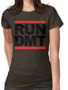 RUN DMT (Parody) Womens Fitted T-Shirt