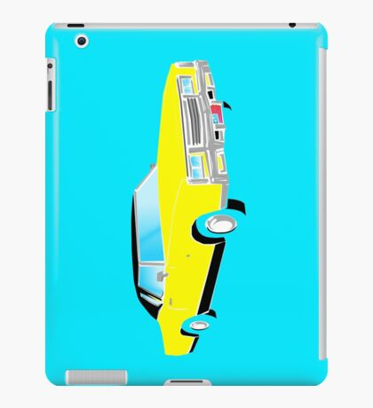 American Car - YELLOW iPad Case/Skin