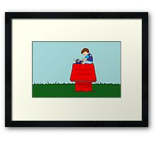 writer Framed Print