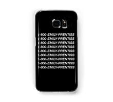 1-800-Emily-Prentiss (Black) Samsung Galaxy Case/Skin