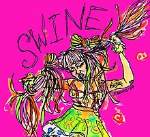 SWINE! by niamhkerins