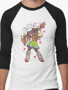 SWINE! Men's Baseball ¾ T-Shirt