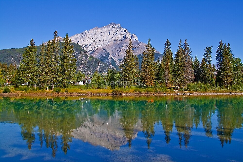 Canada. Alberta. Canadian Rockies. Environs of Banff town. by vadim19