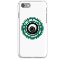 Sherlock's Coffee - Surprisingly OK! iPhone Case/Skin