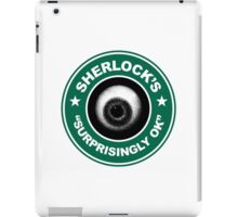 Sherlock's Coffee - Surprisingly OK! iPad Case/Skin