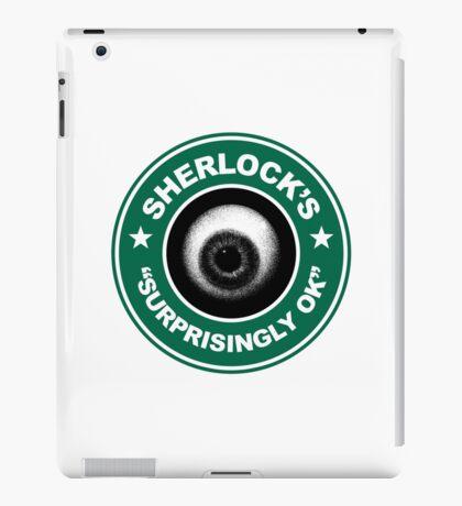 Sherlock's Coffee - Surprisingly OK! iPad Case/Skin