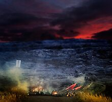 Lava is coming. by Alex Preiss