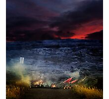 Lava is coming. Photographic Print