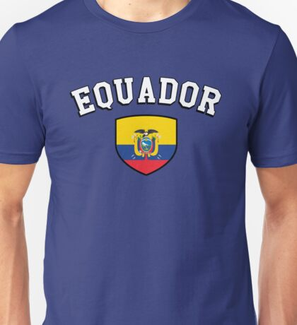 Equador Supporters Unisex T-Shirt