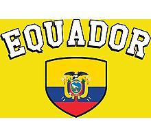 Equador Supporters Photographic Print