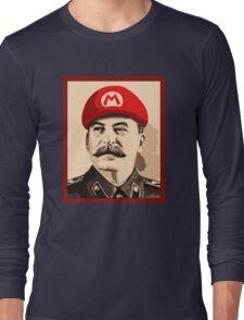 Stalin is Mario Long Sleeve T-Shirt