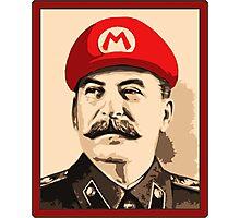 Stalin is Mario Photographic Print