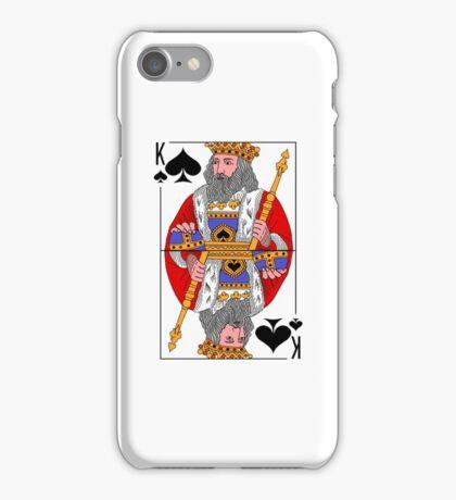 KING OF SPADE iPhone Case/Skin