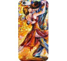 IN THE RHYTHM OF TANGO - Leonid Afremov iPhone Case/Skin