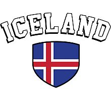 Iceland Supporters Photographic Print