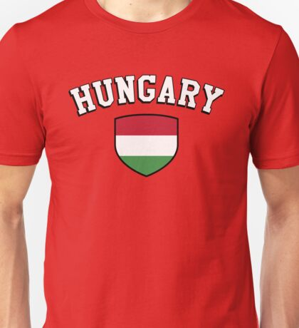 Hungary Supporters Unisex T-Shirt