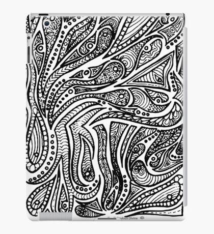 Achromatic  Bohemia iPad Case/Skin