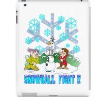Snowball Fight Disney style iPad Case/Skin
