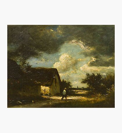 Jules Dupre(French, )The Passing Storm Photographic Print