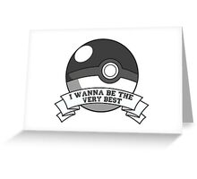 Pokemon Trainer Greeting Card