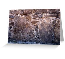 Mayan pictographs, Pelanque Greeting Card