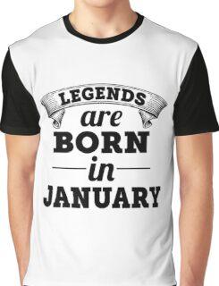 born in january Graphic T-Shirt