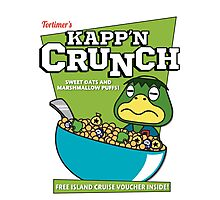 Kapp'n Crunch! Photographic Print