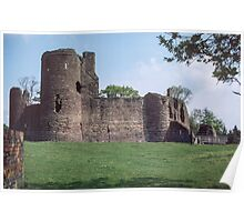 Castle at Grosmont Wales 19840518 0011 Poster