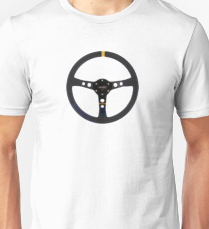 Racing Wheel Unisex T-Shirt