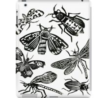 Insect Collection Lino Prints iPad Case/Skin