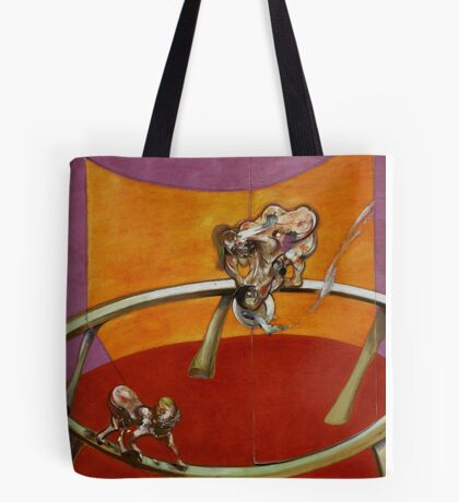 Francis Bacon, From Muybridge 'The human Figure in Motion: Woman Emptying a Bowl of Water/Paralytic Child Walking on All Fours' 1965 Tote Bag