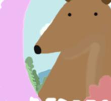 Deer Respect Sticker