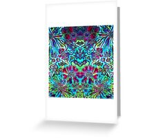 Floral Fantasy Collection - Flower Power Greeting Card
