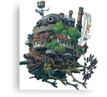 8bit Howl's Moving Castle Canvas Print