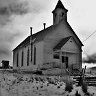 Old Church outside Long Creek, Oregon by Diane Arndt