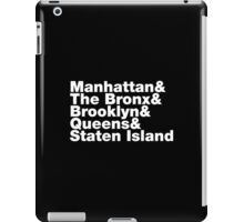 Five Boroughs iPad Case/Skin