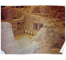 AKROTIRI - Ancient Buried City  Poster