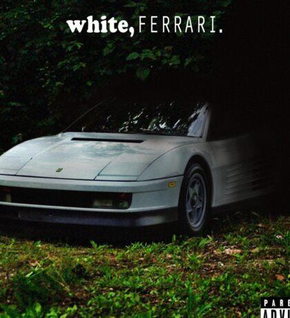 WHITE FERRAI Sticker